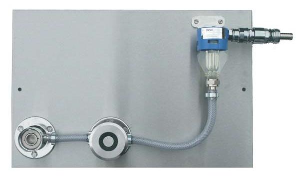Ventil pro sanitaci domácích výèepù s jednou mycí hlavou - Plochý sanitaèní adapter