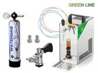 PYGMY 20 GREEN LINE, BAJONET, CO2 MINI + ZDARMA Sanitaèní adapter bajonet