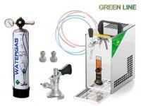 PYGMY 20 GREEN LINE, PLOCHÝ, CO2 MINI + ZDARMA sanitaèní adapter plochý