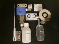 Sanitaèní sada pro domácí výèepy se sanitaèním adapterem