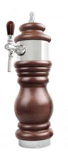 Výèepní stojan Baroko 1x kohout chrom-1