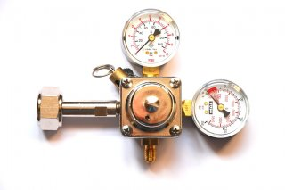 Redukční ventil CO2, 1 vývod