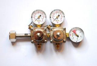 Redukční ventil CO2 - 2 vývody