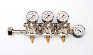 Redukční ventil N2 - 3 vývody