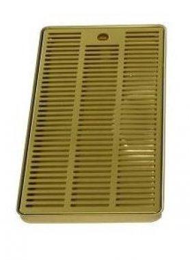 Odkapová miska zlato 400x220