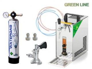 PYGMY 25 GREEN LINE, PLOCHÝ, CO2 MINI + ZDARMA sanitaèní adapter plochý