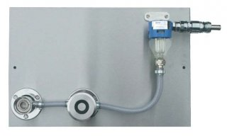 Ventil pro sanitaci domácích výčepů s jednou mycí hlavou - Plochý sanitační adapter